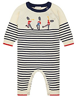 Monsoon New Born Lucas Guard Sleepsuit