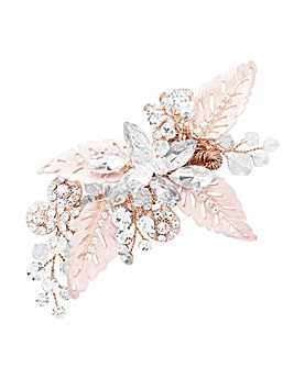 Jon Richard Leaf & Navette Hair Clip