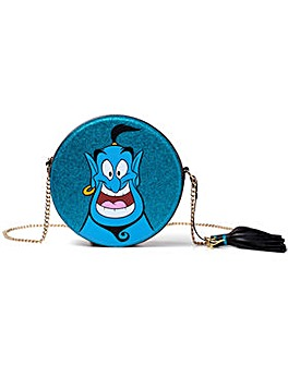 Aladdin Genie Round Glitter Shoulder Bag