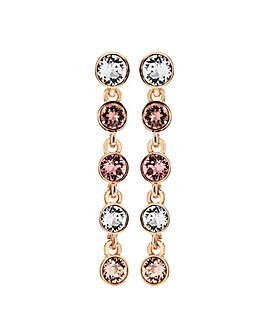 Swarovski Jon Richard Rose Gold Earrings