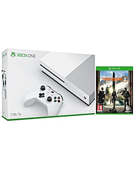 Xbox One S 1TB and The Division 2  Game