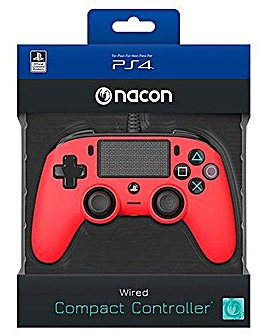 PS4 Officially Licensed Red Controller