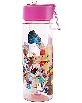 Lego Movie 2 Girls Water Bottle 600ML