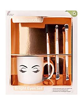 Brushworks Bright Eyes Brush Set