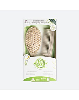 So Eco Biodegradable Gentle Detangling Hair Set