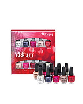 OPI Shine Bright 10pc Mini Set