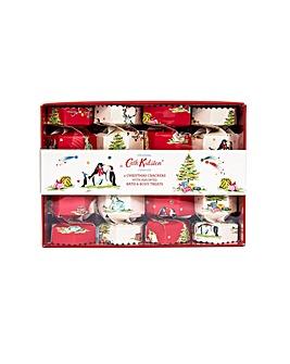 Cath Kidston Festive Party Animals Four Crackers Gift Set