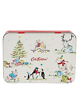 Cath Kidston Festive Hand and Lip Tin