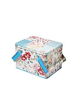 Cath Kidston Cottage Patchwork Picnic Tin Gift Set