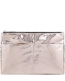 Accessorize Metallic Gym Wash Bag