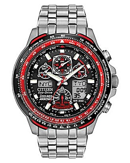 Citizen Gents Eco-Drive Red Arrows Skyhawk Titanium Watch