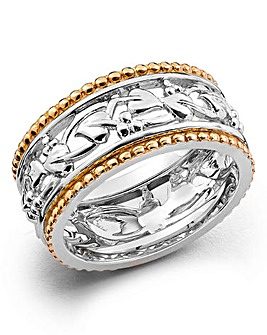 Clogau Tree of Life Silver & Gold Ring