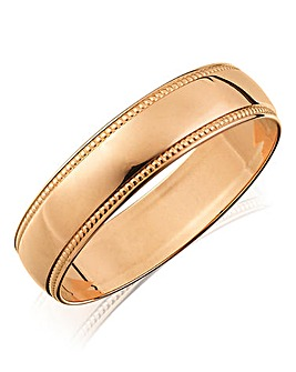 Ladies 9ct Rose Gold Wedding Band