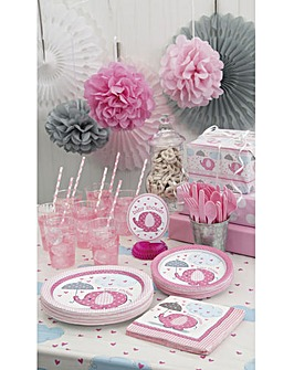 Umbrellaphants Pink Party Pack For 16