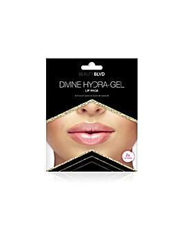 Beauty Blvd Divine Hydra-Gel Gold Radiance Lip Mask x 2