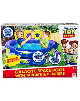 Toy Story Pool With Targets And Guns