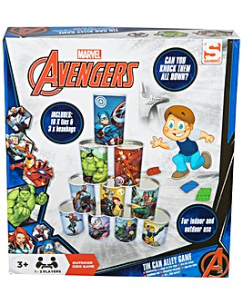 Avengers Tin Can Alley Game