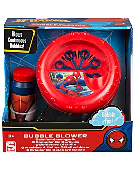 Spiderman Evergreen Bubble Machine