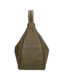 Enrico Benetti Lily Zip Split Handle Backpack
