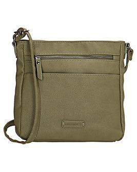 Enrico Benetti Jade Small Single Handle Faux Leather Shoulderbag