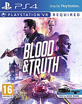 Blood  Truth PS4