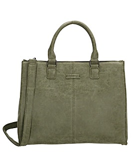 Enrico Benetti Metz Large Faux Leather Laptop Workbag