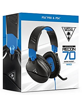 Turtle Beach Recon 70P Black Headset