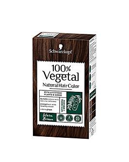 Schwarzkopf 100% Vegetale Hair Dye Warm Brown