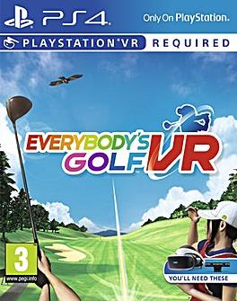 Everybody�s Golf  VR PS4