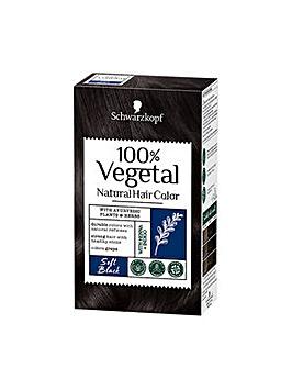 Schwarzkopf 100% Vegetale Hair Dye Soft Black