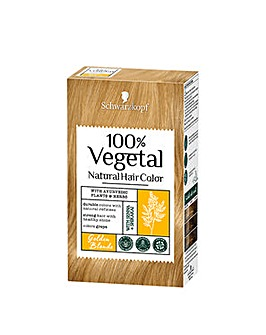 Schwarzkopf 100% Vegetale Hair Dye Golden Blonde
