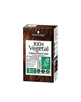 Schwarzkopf 100% Vegetale Hair Dye Russet Brown