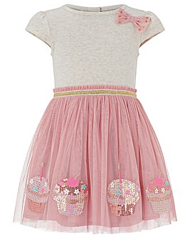 Monsoon Baby Disco Cupcake Dress
