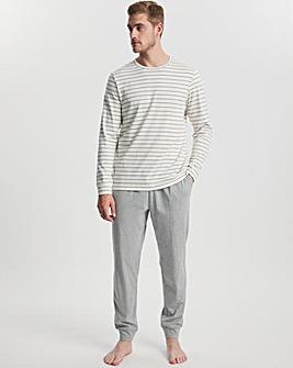 Stripe Soft Jersey Pyjama Set