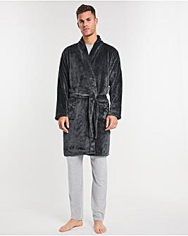 Sherpa Fleece Dressing Gown
