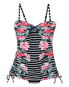 Joules Delphine Padded Controlling Swimsuit