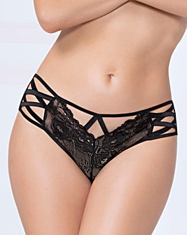 Seven Til Midnight Lace & Mesh Brief