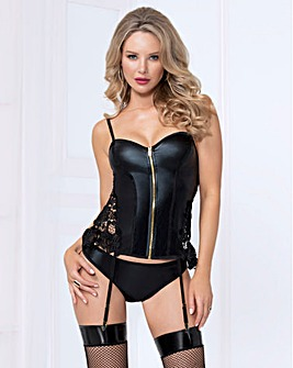 Seven Til Midnight Slicker Bustier