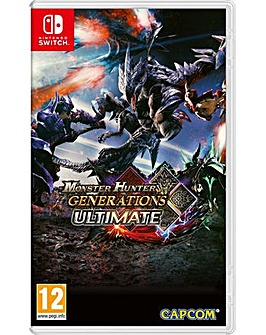 Monster Hunter Generations Ultimate NSW