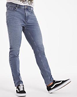 Premium Blue Grey Skinny Fit Jeans