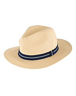 Cream Boating Hat