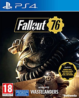 Fallout 76 inc Wastelanders PS4