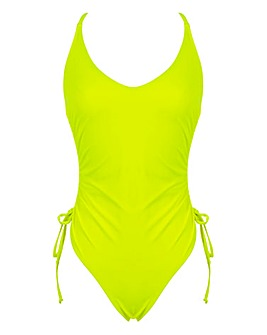 Boux Avenue Ruched Tie Side Swimsuit