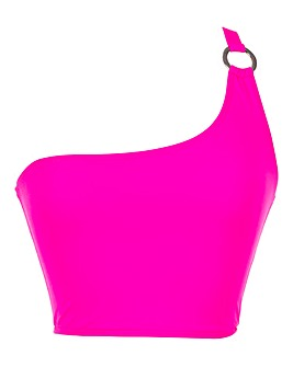 Boux Avenue Java One Shoulder Bikini Top