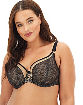 Elomi Sadie Lace Non Padded Wired Balcony Bra