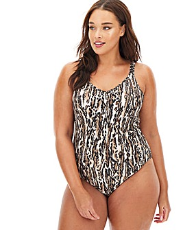 Elomi Fierce Moulded Strappy Back Swimsuit