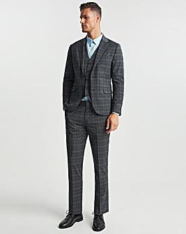 Alan Grey Check Regular Fit Suit Jacket