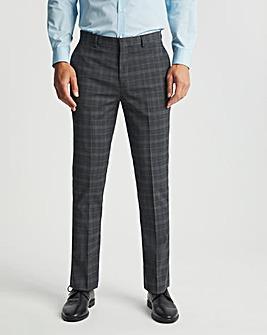 Alan Grey Check Regular Fit Suit Trousers