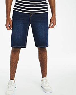 Indigo 5 Pocket Core Denim Shorts