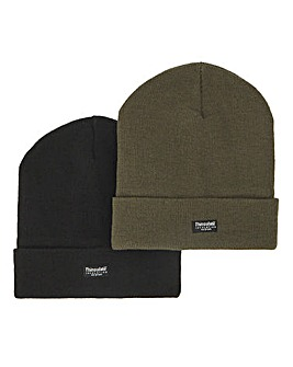 Khaki & Black Pack 2 Hats